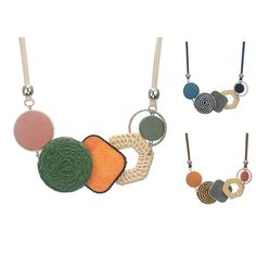 Handmade Plant Fibres Necklace for Women Bamboo Weaving Statement Necklaces & Pendants Women's New Jewelry for Gifts Trendy Necklaces, Statement Necklaces, Jewelry Accessories, Fashion Accessories, Bamboo Weaving, Plant Fibres, Collar Necklace, Chokers, Pendant Necklace
