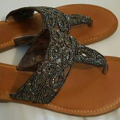 b0e15e485aafd8 Not rated sandals Buckle not rated flats slightly used only worn a couple  times not rated Shoes Flats   Loafers