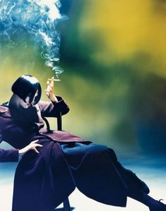 Nick Knight for Yohji Yamamoto (from Business of Fashion article on Art Director Marc Ascoli) Love this image. The book is stunning