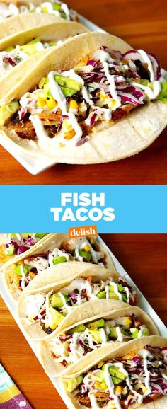 These easy fish tacos will transport you straight to southern California.