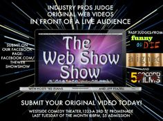 Quick Dish: Don't Miss THE WEB SHOW SHOW Tonight at M.i.'s Westside Comedy Theater!