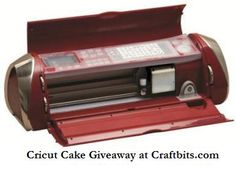 Cricut Cake Personal Electronic Cutter, Kitchen Red The Cricut Cake Personal Electronic Cutter is specifically designed for decorating professional-looking Cake Decorating Tutorials, Cookie Decorating, Decorating Supplies, Decorating Cakes, Cake Decorations, Decorating Ideas, Gumpaste Recipe, Fondant Icing, Cricut Cake