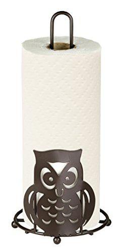 Home Basics Owl Paper Towel Holder Home Basics http://smile.amazon.com/dp/B00LZ2L7T0/ref=cm_sw_r_pi_dp_6G-Fub1FT7AZT