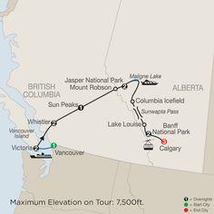 British Columbia, Alberta & Calgary Tours - Globus®