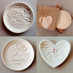 "Think you've seen it all for wedding ideas? Here are 14 super creative ideas your guests will never see coming. Take a look! Custom Kraft CD save the date. It could also be a great wedding favor idea. From BrossieBelle The ""perfect blend"" coffee bean favor from Yacanna Personalize wedding ring dishes from DowntheRoadwithMe Delicious Baguette Bread wedding favor with […]"