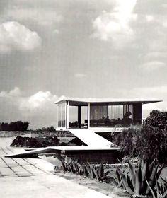Caseta de Ventas 2, Zona comercial, av. de las Fuentes de calle del Agua, Jardines del Pedregal, México DF1950