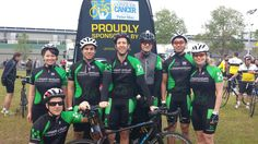 Our amazing team! #ridetoconquercancer #socialgood #cycling