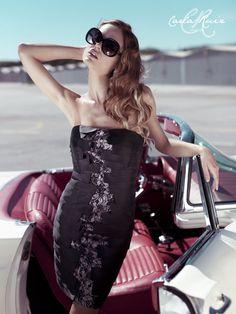 Vestido de Fiesta de Carla Ruiz 2012 - Modelo 86069
