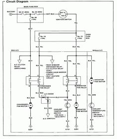 10 Ide Honda Civic Wiring Diagram Honda Civic Honda Honda Accord
