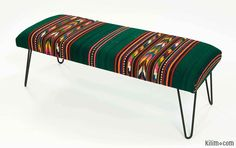 K0016130 Kilim Bench | Kilim Rugs, Overdyed Vintage Rugs, Hand-made Turkish Rugs, Patchwork Carpets by Kilim.com