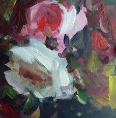 """""""rose study # 5"""" original fine art by Parastoo Ganjei"""
