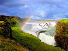 Dünyanın en büyük şelaleleri gullfoss
