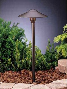 Textured Architectural Bronze Dome Path Light modern outdoor lighting