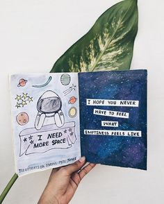 #ohjournaletc SPACE // i need more space 3x all the time but i don't want to feel what emptiness of space's void feels like. Hashtag dangg Instagram: @noor_unnahar