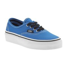 Vans Authentic Athletic Shoes ❤ liked on Polyvore featuring baby, baby boy, kids, baby clothes and baby shoes