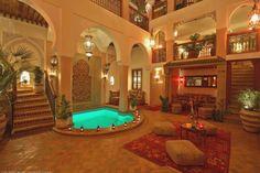 Riad de charme à Marrakech, Maroc : Description
