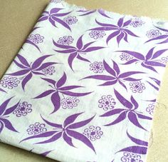 Hey, I found this really awesome Etsy listing at https://www.etsy.com/listing/264947010/vintage-american-feedsack-fabric-lilac