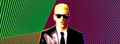 "Eminem is Max Headroom - ""Rap God"" Eminem Songs, Eminem Music, Eminem Rap, The Eminem Show, Clean Bandit, Mark Ronson, Sean Paul, Counting Stars, Meghan Trainor"