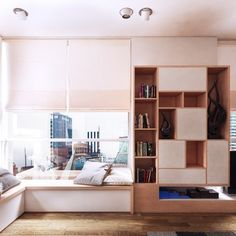 Downtown apartment interior design by Koj Design