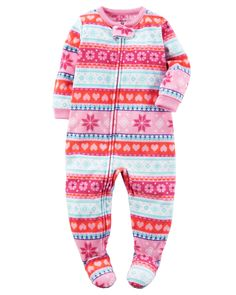 7076a9bf6 Carters Baby Girls 1 Pc Fleece 337g129 Print 12M * Check out this wonderful  item.