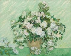 Vincent van Gogh | Roses | National Gallery of Art | Discover and Shop Museum Art Prints | 1000Museums