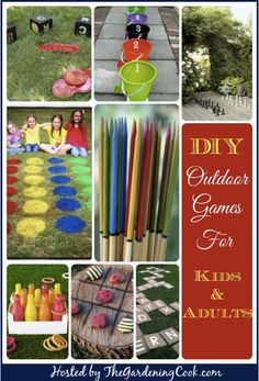 9 Outdoor Games For Kids And Adults...http://homestead-and-survival.com/9-outdoor-games-for-kids-and-adults/