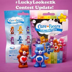 "Care Bear figures from Just Play's Care Bears blind bags! Available at Walmart, Target & Toys""R""Us"