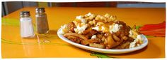 Poutine La Banquise (road trip to Montreal--supposedly some of the best poutine in Montreal)