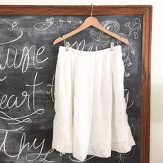 J. Crew Factory Skirt Beautiful Detailing. First picture filtered. Fits true to size in my opinion. Factory. NWT. No try ons as I am pregnant. Please ask all questions prior to purchasing. I am more than happy to provide measurements upon request! J. Crew Skirts