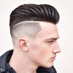 23 New High Fade Haircuts With Blade Marking