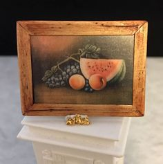 Follhouse Miniature Framed Print, Signed By Artist Cindy Malon #CindyMalon