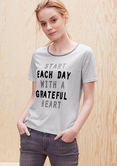 Buy T-shirt with flock lettering | s.Oliver shop