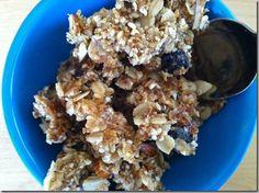Chewy homemade granola