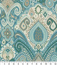 "Waverly Sun N' Shade Outdoor Fabric 54"" - Boho Passage Spa"