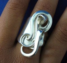 Solid Sterling Silver Fork Ring Made From Actual by forkwhisperer, $149.00