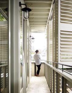 PADDINGTON VILLA | alwill  #outdoor #plantationshutters #verandah