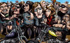 Streetbikers / ストリートバイカーズ - TOKYOGUNS harley-davidson outrawbikers, Chopper, WildAngels