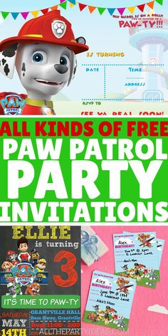 7 Personalised Paw Patrol Self Adhesive Fruit Shoot Wrappers Birthday Party