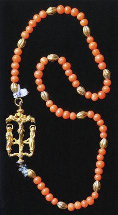 Rosary Prayer, Prayer Beads, Pearl Necklace, Beaded Necklace, Religious Jewelry, Kugel, Medieval, Jewlery, Prayers