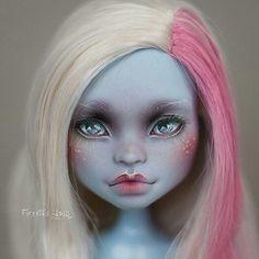 "639 Likes, 6 Comments - OOAK Dolls. Alexandra Popova. (@firexia) on Instagram: ""Вот Эбби уже продана Abbey. She is sold already.) #dollphoto #dollphotogallery #repaint #Mattel…"""
