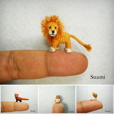 Cute Factor Of Ten - Miniature Crochet Animals By Su Ami | Cool Feed.me - Cool Stuff To Buy And Drool Over