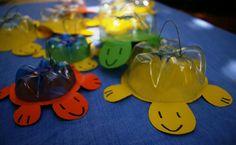 Tartarughe giocattolo con #RicicloCreativo dei fondi delle bottiglie in #PET #Facile #Economico #Creativo SEGUICI SU: www.facebook.com/CreoEco www.pinterest.com/CreoEco