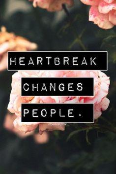 Many kinds of heartbreak.