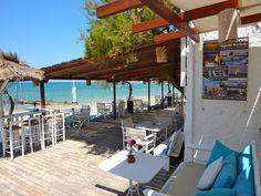 Jarle Rings favorittsted på Naxos - Flisvos beach cafe