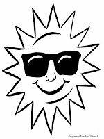 Gambar Matahari Untuk Diwarnai Mewarnai Gambar Sun Coloring