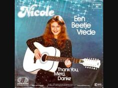 """Nicole - """"Een beetje vrede"""", dutch Version of """"Ein bisschen Frieden"""", the winning song of the Eurovision Song Contest 1982 from Germany Grand Prix, Concerts In London, Worst Album Covers, Pot Pourri, Bad Album, Eurovision Songs, Kinds Of Music, Greatest Hits, Nostalgia"""