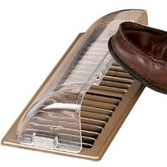 Floor vent deflector from Miles Kimball stays put with built-in magnets. Guaranteed never to break. Clear, high-impact plastic, adjusts from - long. Floor Heater, Floor Vent, Vent Extender, Baseboard Register, Heating Furnace, Door Sweep, Personalized Photo Frames, King Design, Window Unit