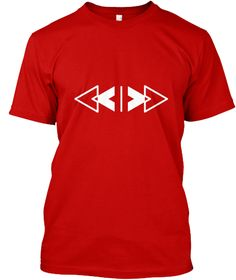 Jealous Guy Classic Red Kaos Front