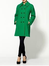 love this green milly coat