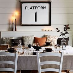 Neutral panelled dining room | Dining room decorating | housetohome.co.uk